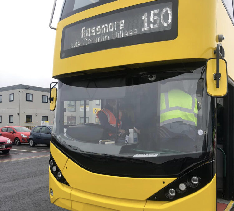 NBRU BUS DESIGN COMMITTEE VIEWS NEW ALEXANDER DENNIS BUS FOR 2021